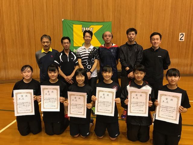 令和1年度第37回中江記念杯争奪大会結果【一般の部】